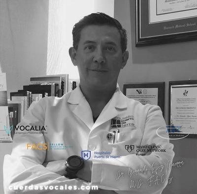 Dr. Gerardo Lopez Guerra MD. FACS.